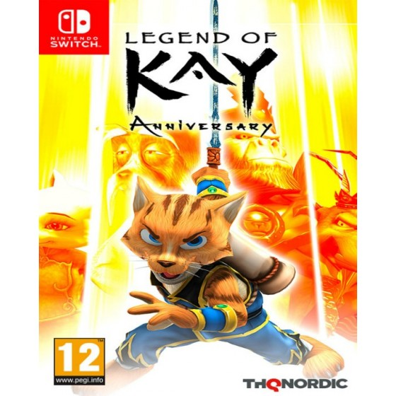 Legend of Kay - Anniversary - Switch