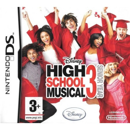 High School Musical 3 Senior Year - DS