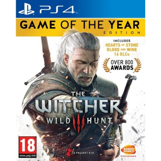 The Witcher 3: The Wild Hunt GOTY - PS4