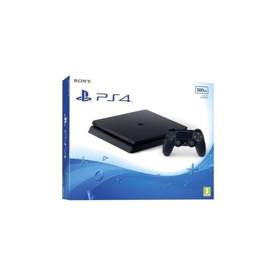 PlayStation 4 Slim 500GB Black Chassis F
