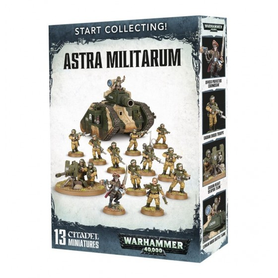 Warhammer 40.000 - Astra Militarium Start Collecting