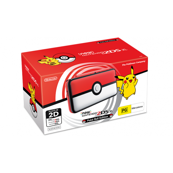 New Nintendo 2DS XL - Poké Ball Edition