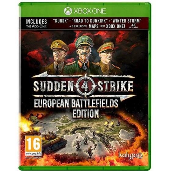 Sudden Strike 4: European Battlefields - Xbox One