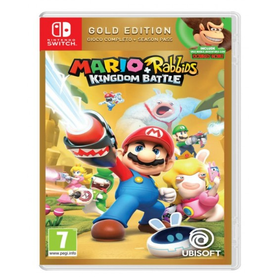 Mario Rabbids Kingdom Battle Gold Edition - Switch