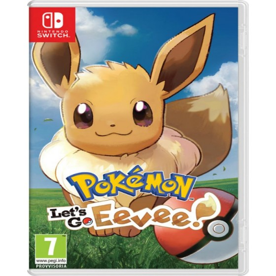 Pokémon: Let's Go, Eevee - Switch