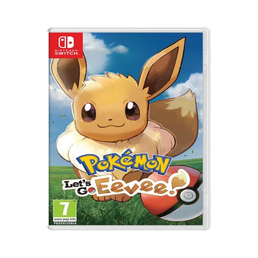 Pokémon: Let's Go, Eevee - Switch