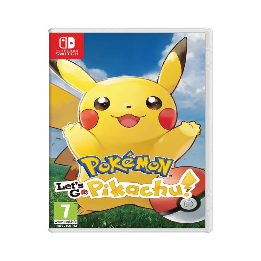 Pokémon Let's Go, Pikachu - Switch