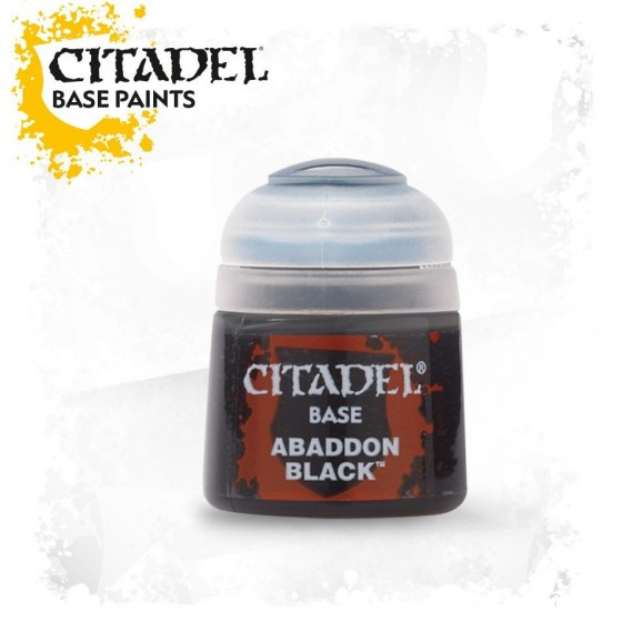 Citadel - Base - Abaddon Black - The Gamebusters