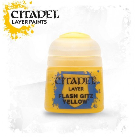 Citadel - Layer - Flash Gitz Yellow - The Gamebusters