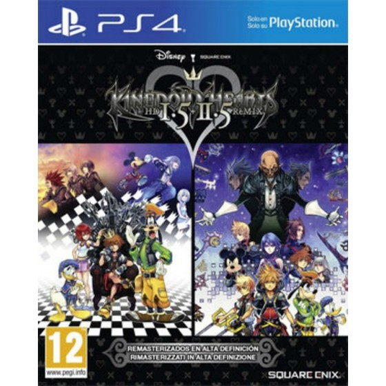 Kingdom Hearts HD 1.5/2.5 Remix - PS4