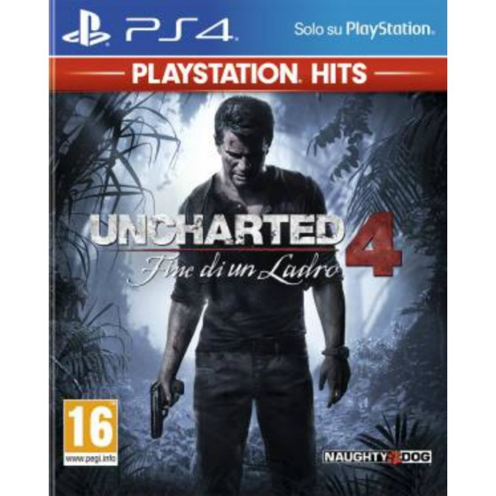 Uncharted 4 - Fine di un Ladro - Playstation Hits - PS4