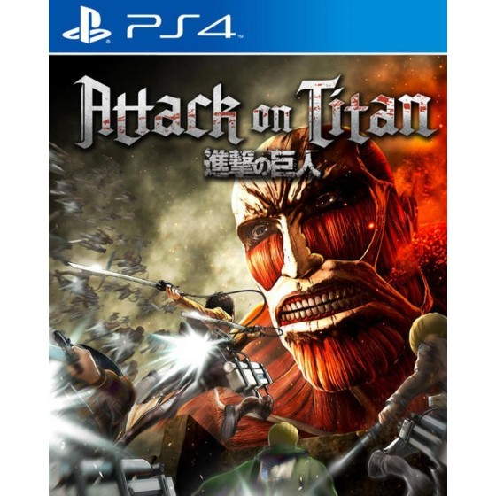 Attack On Titan - Wings of Freedom - PS4