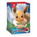 Pokémon: Let's Go, Eevee! + Poké Ball Plus - Switch