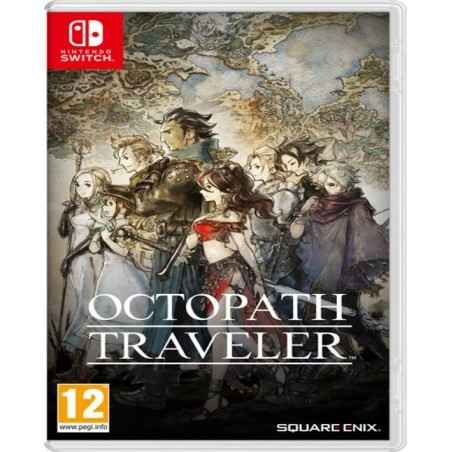 Octopath Traveler - Switch