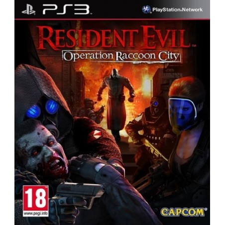 Resident Evil Operation Raccoon City - PS3 usato
