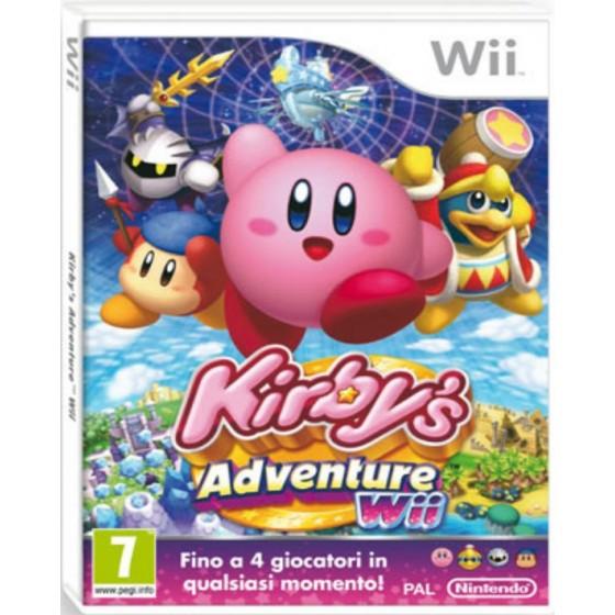 Kirby's Adventures Wii - Wii