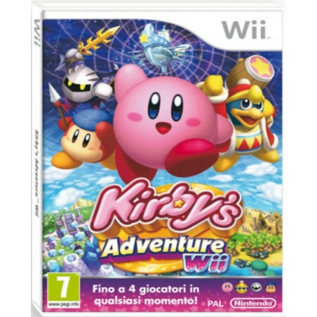 Kirby's Adventures Wii - Wii