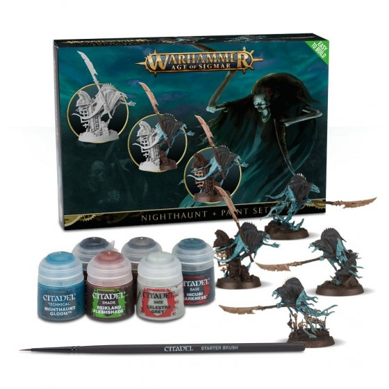 Warhammer Age of Sigmar - Nighthaunt e Paint Set