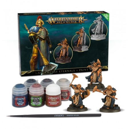 Warhammer Age of Sigmar - Stormcast Eternals + Paint Set