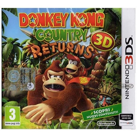 Donkey Kong Country Returns 3D - 3DS