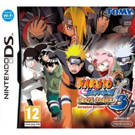 Naruto Shippuden Ninja Council 3 - DS usato