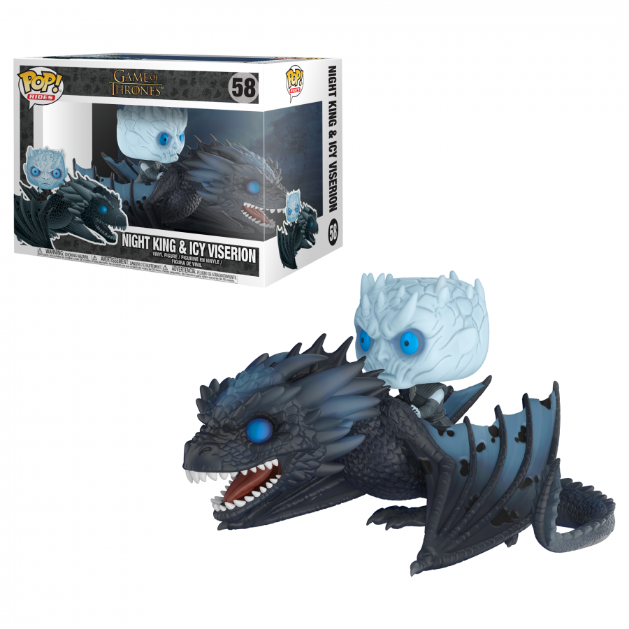 Funko Pop! - Night King & Icy Viserion (58) - Game of Thrones