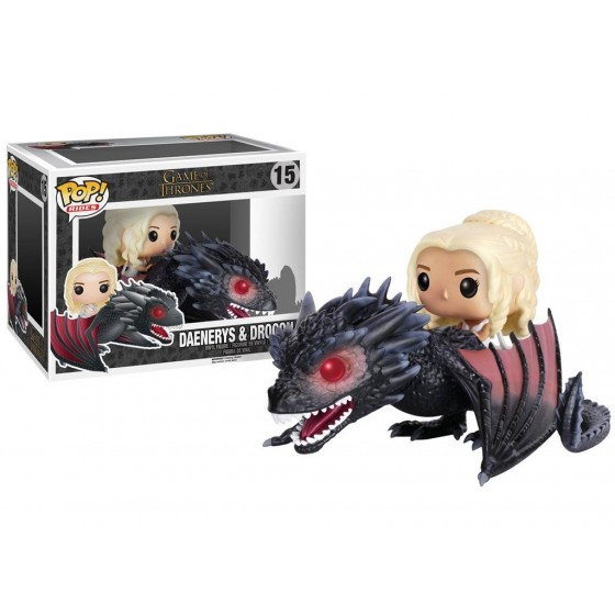 Funko Pop! - Daenerys & Drogon (15) - Game of Thrones
