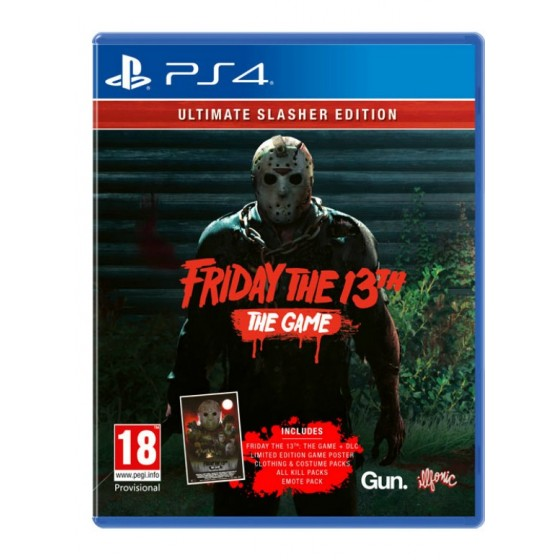 Friday the 13th: Ultimate Slasher Edition - PS4