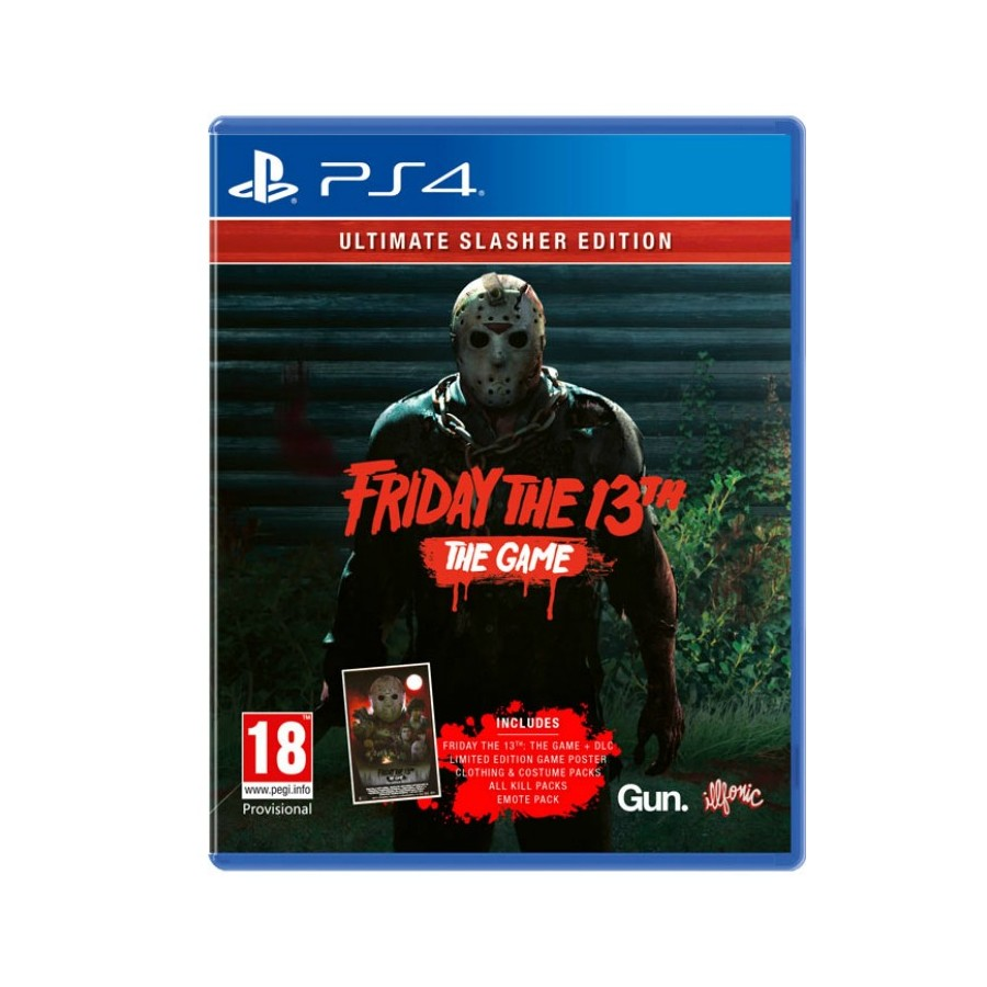 Friday the 13th: Ultimate Slasher Edition per ps4