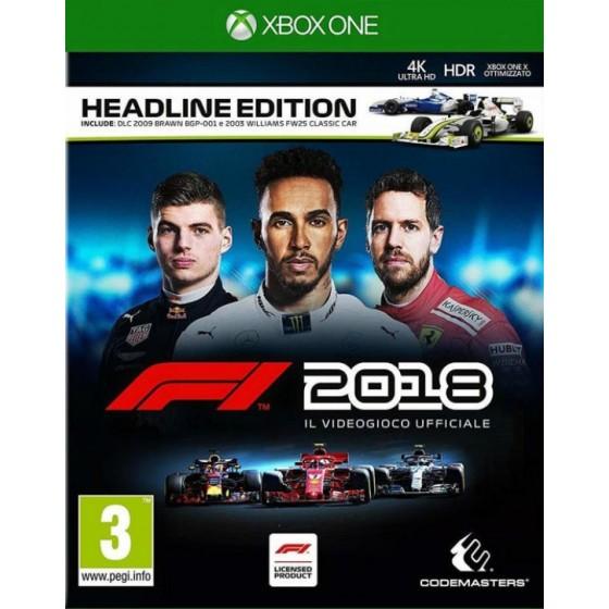 F1 2018 Headline Edition per xbox one