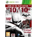 Batman Arkham City - GOTY - Xbox 360
