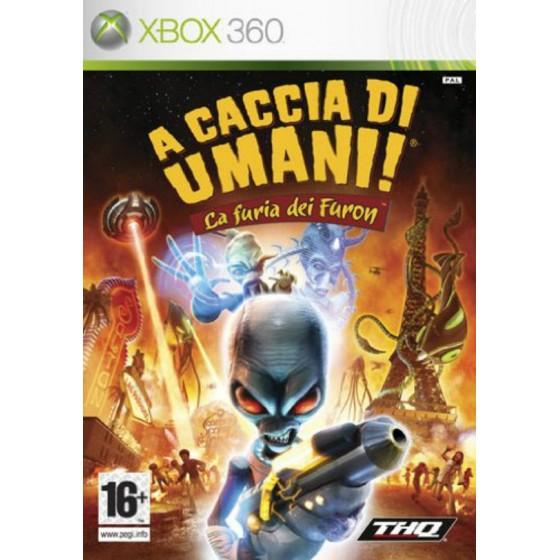 A Caccia di Umani! La Furia dei Furon - Xbox 360