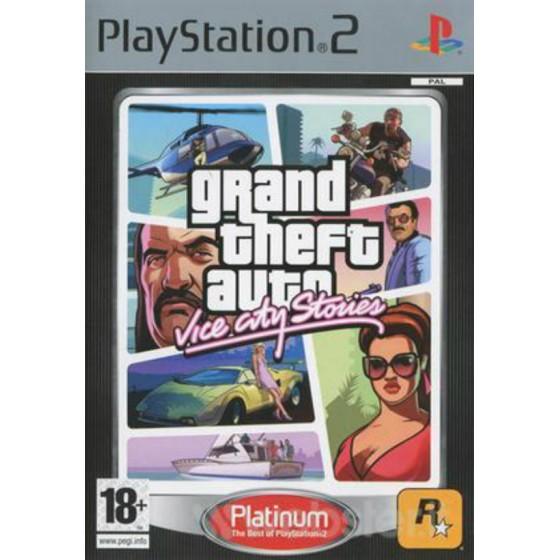 GTA Vice City Stories - Platinum - PS2 usato