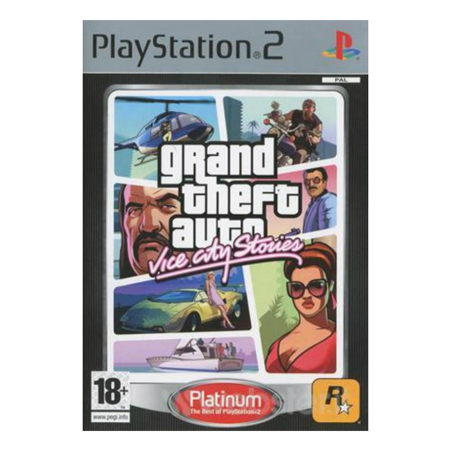 GTA Vice City Stories - Platinum - PS2