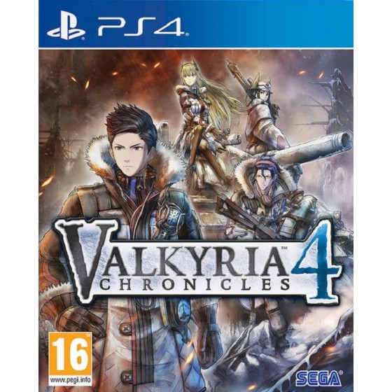 Valkyria Chronicles 4 per ps4