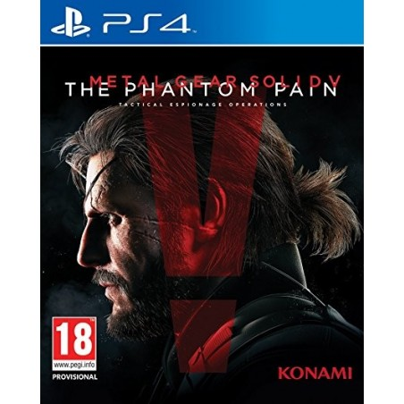 Metal Gear Solid V The Phantom Pain - PS4 usato