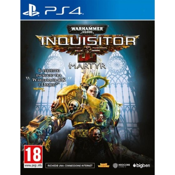 Warhammer 40.000: Inquisitor Martyr - PS4