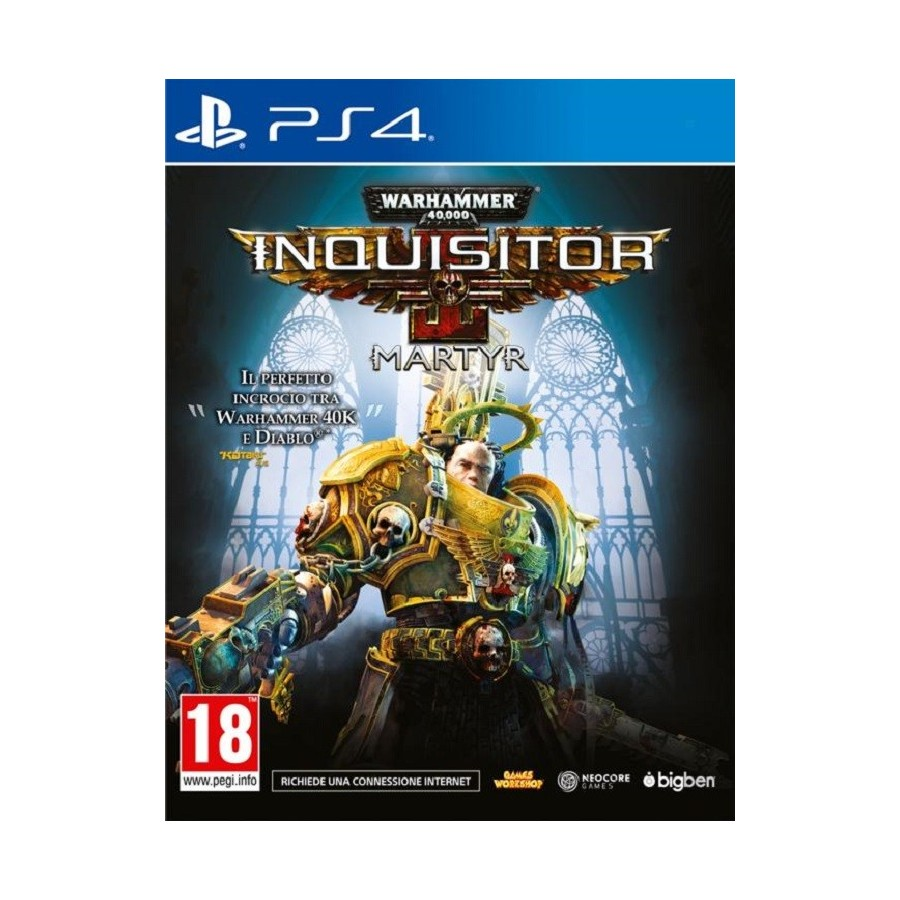Warhammer 40.000: Inquisitor - Martyr per ps4
