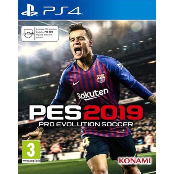 PES 2019 per ps4