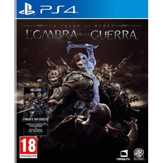 La Terra di Mezzo L'Ombra della Guerra - PS4