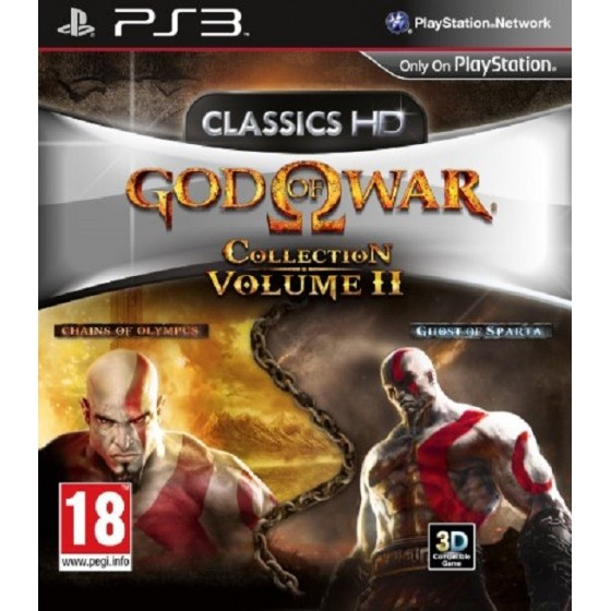 God of War Collection - Volume II - PS3 usato