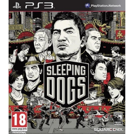 Sleeping Dogs - PS3 usato