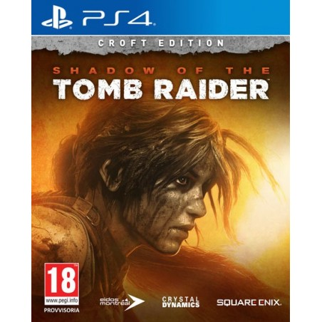 Shadow of the Tomb Raider - Croft Edition - PS4