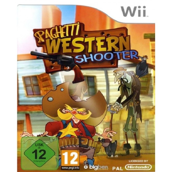 Spaghetti Western Shooter - Nintendo Wii Usato