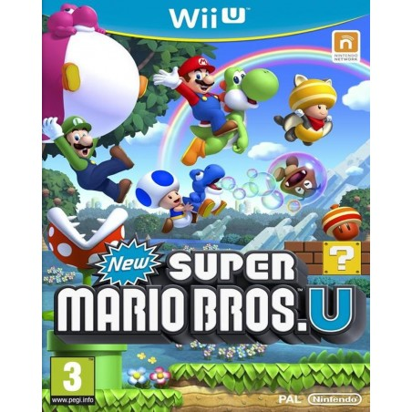 New Super Mario Bros. U - WiiU
