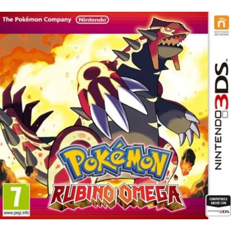Pokemon Rubino Omega - 3DS