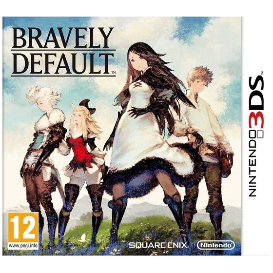 Bravely Default - 3DS usato