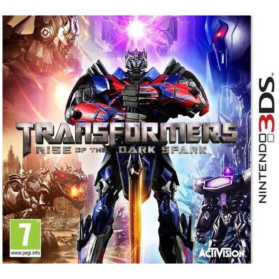 Transformers The Dark Spark - 3DS Usato