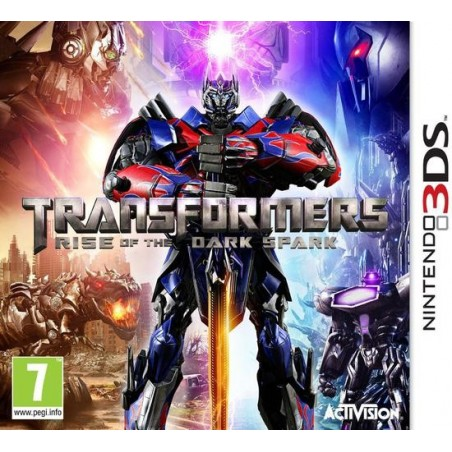 Transformers: The Dark Spark - 3DS