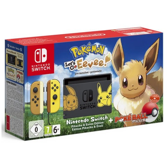 Console Nintendo Switch Limited Edition Eevee